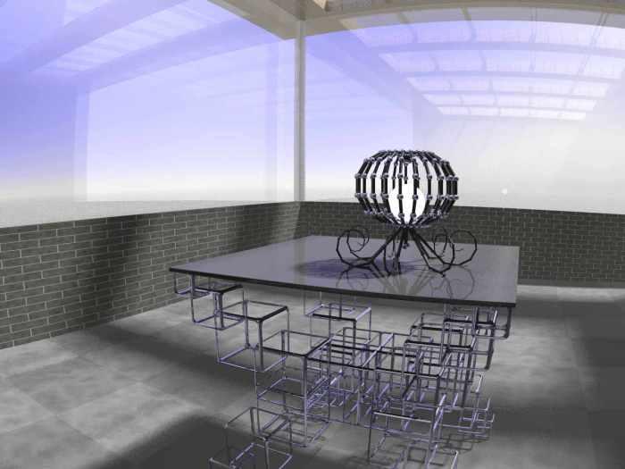 genetic fractals - table lamp lt