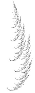 one sided cedar fractal JS