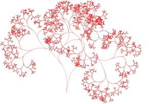 random tree fractal - 1
